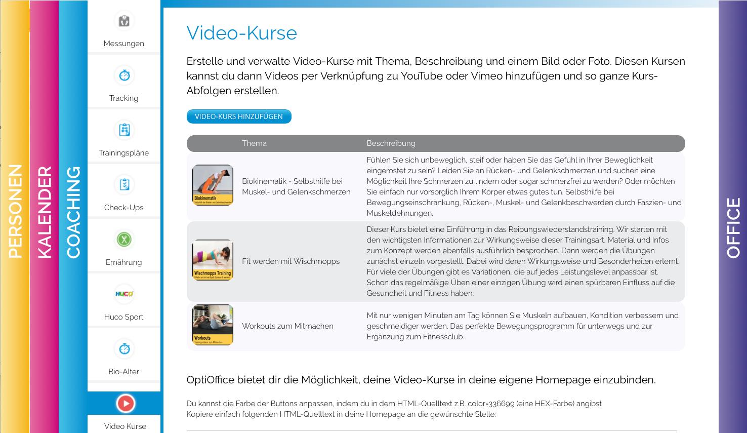 UPDATE- Videokurse